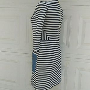 Anthropologie Dresses - 🍁Tabitha {Anthro} 3/4 Sleeves Striped Dress